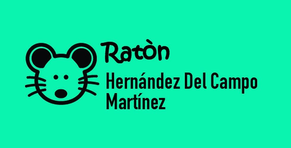 Sello Ropa y Papel > Ratón
