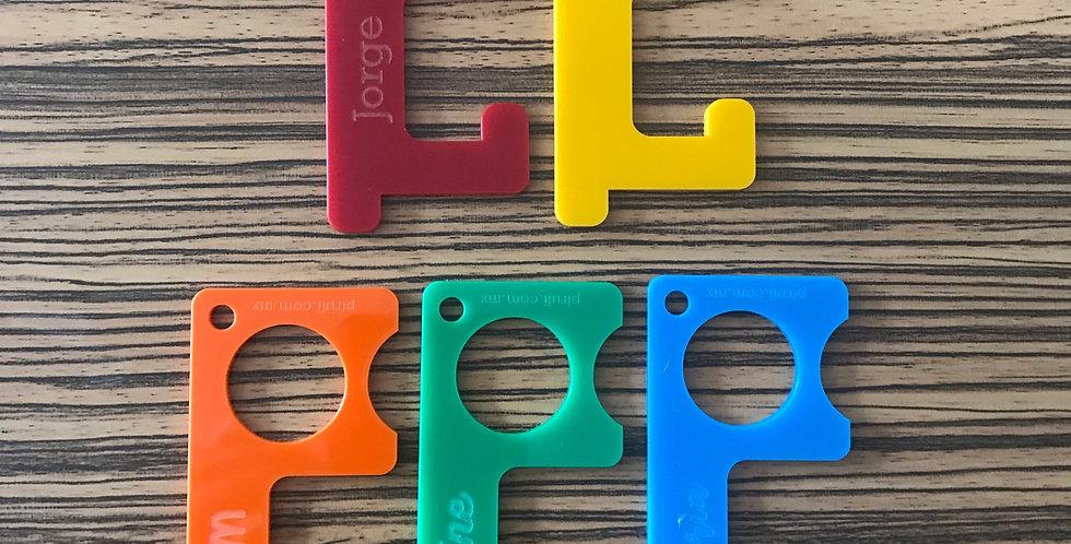 LLaveros No-toco-nada> 5 piezas