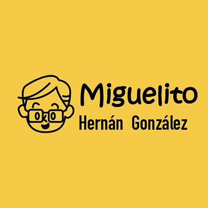 Sello Ropa y Papel > Miguelito