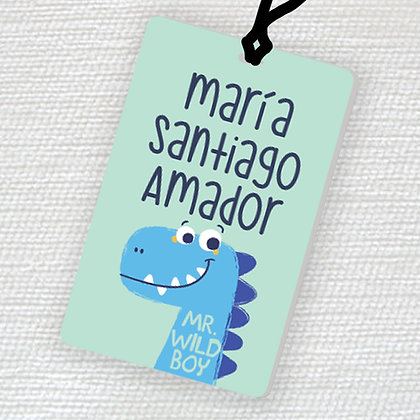 Name Tag > Brontosaurio