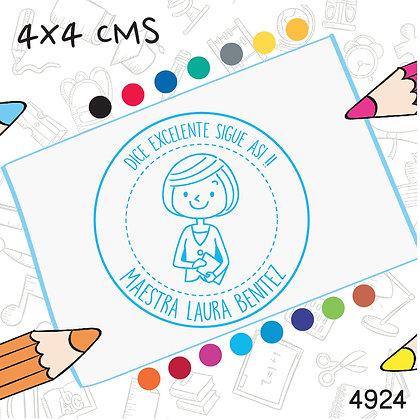 Maestra 8>4x4 cms