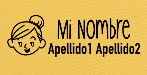 Sello Ropa y Papel >Ana