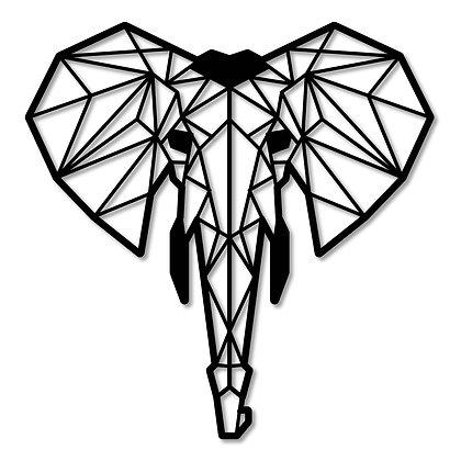 Elefante> Figura madera