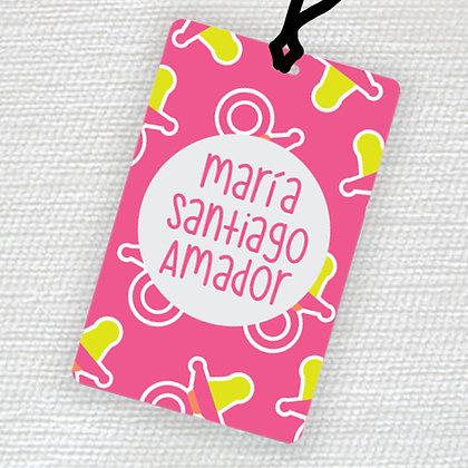 Name Tag > Bebé Niña
