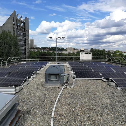 Les premières toitures solaires citoyennes voient le jour à Paris
