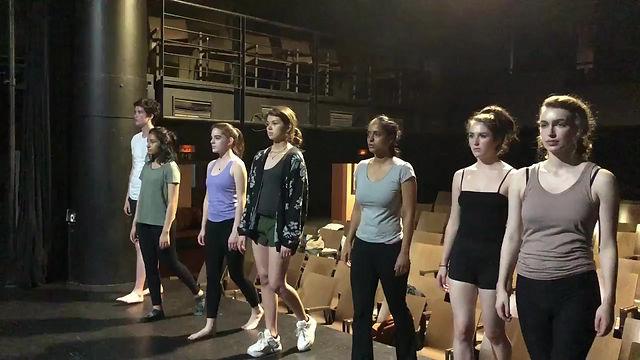 Rehearsal King Lear, Prague 2019