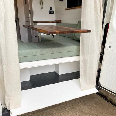 Garage space in rear unit