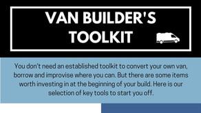 'Van builders toolkit'- Camp Quirky Workshop