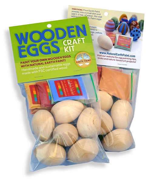 Wooden Egg Craft Kit