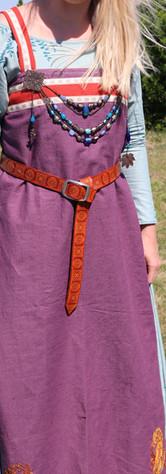 tablier violet