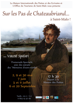 Affiche Chateaubriand