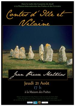 Affiche contes mathias