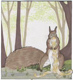 L'écureuil amoureux
