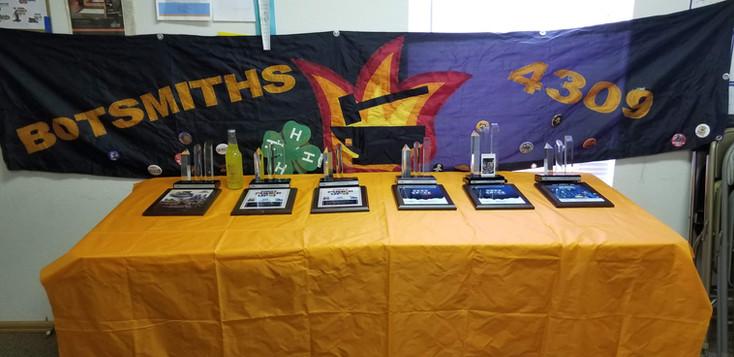 Botsmiths Award Table