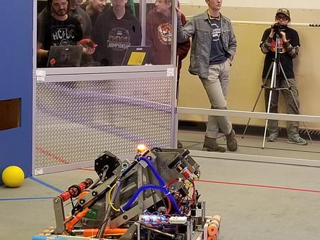 FRC 4309 2020 Robot debut