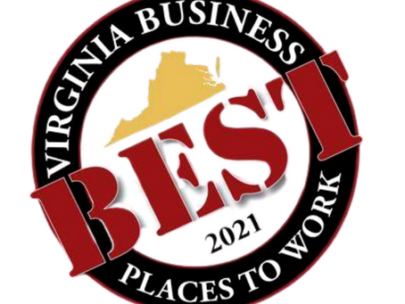 The Geller Law Group Voted Best Places to Work in Virginia