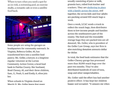 The Geller Law Group Featured in The New York Times