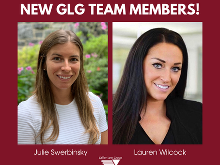Julie Swerbinsky and Lauren Wilcock Join The Geller Law Group