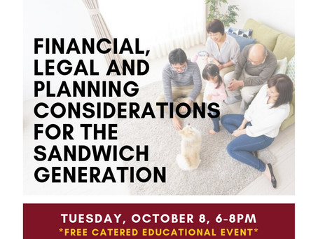 Legal, Financial & Planning Considerations for the Sandwich Generation