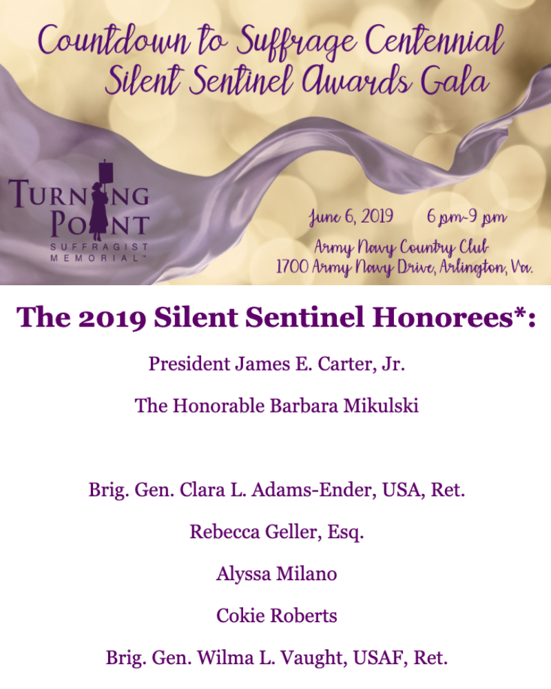 Silent Sentinel Award Honorees