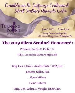 Silent Sentinel Award Honorees