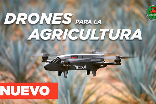 Drone Parrot Agricultura