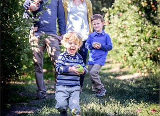 An Apple Orchard Family Session