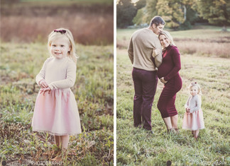 A GORGEOUS FALL FAMILY/MATERNITY SESSION