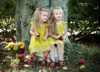 APPLES & GREEN DRESSES