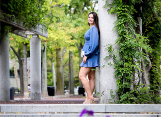 A Fall Senior Session in Boston