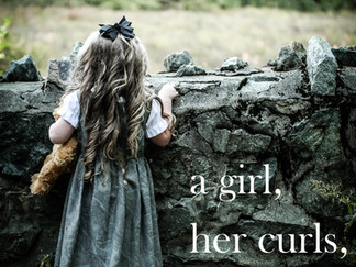 a girl, her curls, and...3 bears - click image to watch video