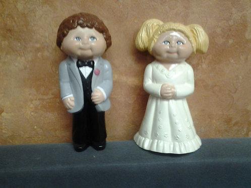 Veggie Patch-like Bride & Groom