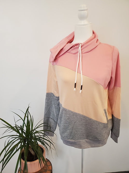 Multi Color Pocket Hoodie