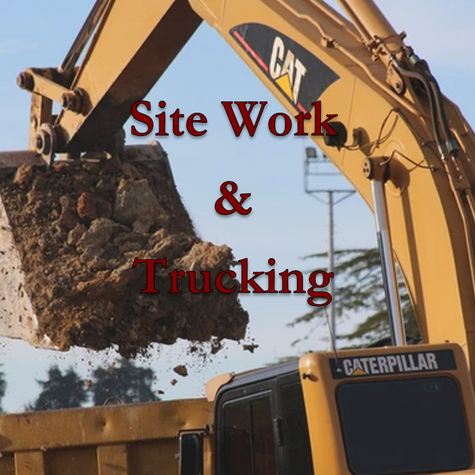 Sitework and Trucking