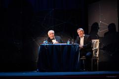 Martin Lamotte donne la réplique à Michel Galabru - Les Diablogues - Mise en scène par Anne Bourgeois