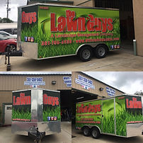 Small, Medium and Large Trailer Wraps