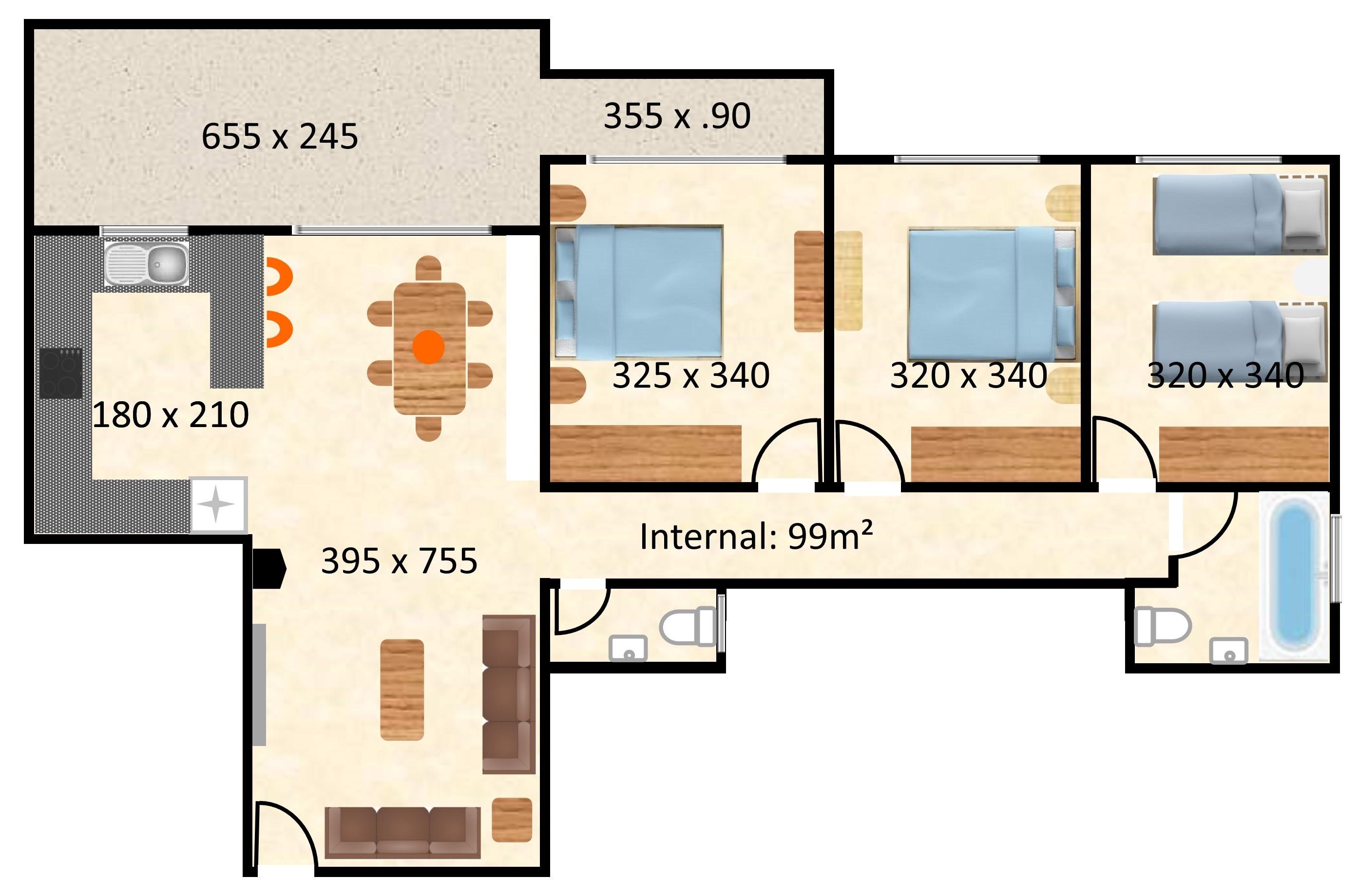 CP A203 Plan