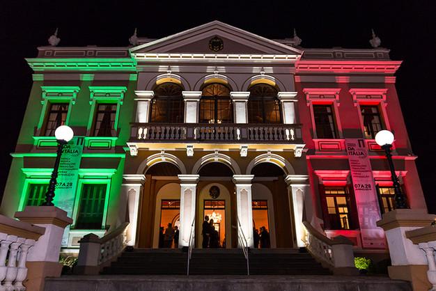 Associação Giuseppe Garibaldi comemora abertura da 1ª Festa da Itália
