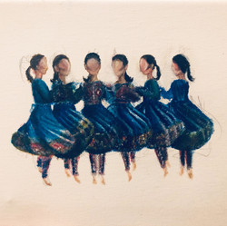 Afghani dance