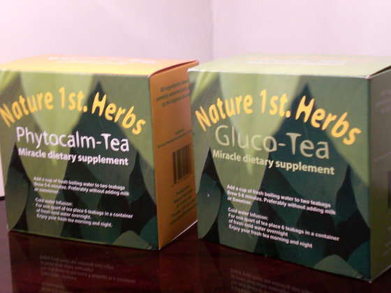 Gluco-Tea.  Traditionally used to control Diabetes