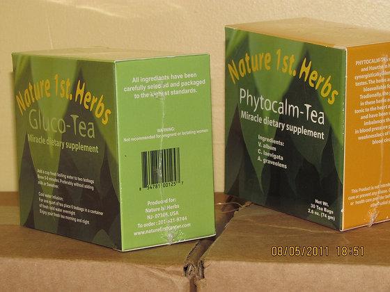 PhytoCalm Tea     Dietary: Regulate BP,Circulation