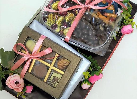 שוקולדים וסוכריות
