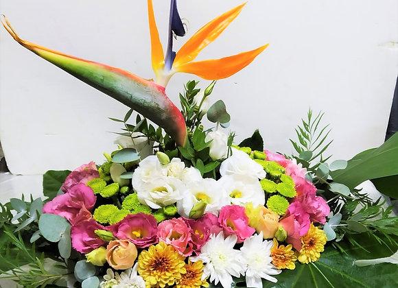 שזירת פרחים ייחודית