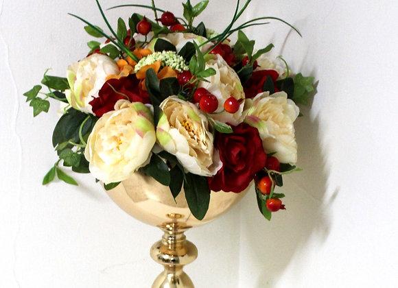 שזירת פרחים במעמד מוזהב גבוה מאד