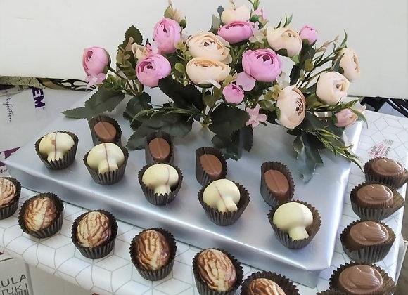שוקולדים ופרחים