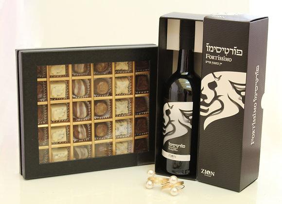 פרלינים ויין משובח