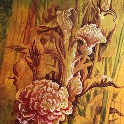 """Breakfast in the Bushes"" 140 x 75"