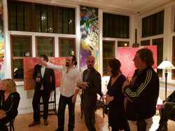 The opening of the exhibition