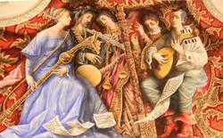 Музиканти / розпис на стіні театру