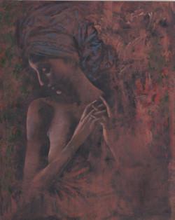 Портрет жінки в тюрбані